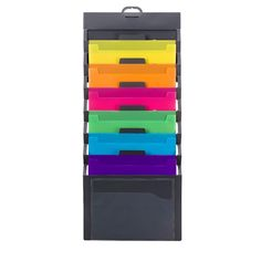 """A Hanging Wall Organizer - """"When there ain't no funk'n space"""""""