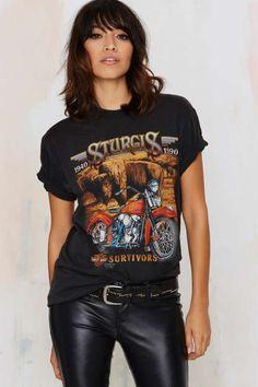 Vintage Harley Davidson Black Hills Rally Tee