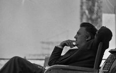 """auteurstearoom: """" """"Even if I set out to make a film about a fillet of sole, it would be about me."""" Federico Fellini (pictured on the set of 8 ½) """" Danish Words, Leo Tolstoy, Benjamin Franklin, Great Films, Film Stills, Film Director, Screenwriting, Jane Austen, Philosophy"""
