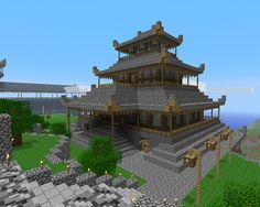 Minecraft - Maison asiatique
