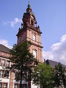 Die Konkordienkirche in den Quadraten. Hier leitet Ben den Kirchenchor und Hannes verrichtet Orgeldienste.