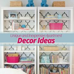 Unique and Inexpensive #Apartment #Decorating Ideas!
