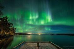 Revontulet Kangasalla, Eero Mäki-Mantila Aurora Borealis, Finland, Nature, Northern Lights, Places, Travel, Naturaleza, Viajes, Northen Lights