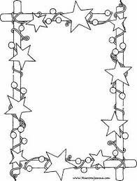 Christmas Colouring Frame Pictures
