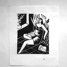 #xilography #xilografia #woman #mujer #woodcutting #floral #prints Graphic Design Illustration, Batman, Superhero, Floral, Fictional Characters, Art, Woman, Art Background, Flowers