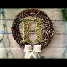 Check out this roundup of Wedding Wreath Ideas, which can be used to decorate the ceremony or reception space. {ahandcraftedwedding.com}