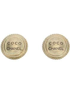 CHANEL VINTAGE 'Coco Chanel' Earring