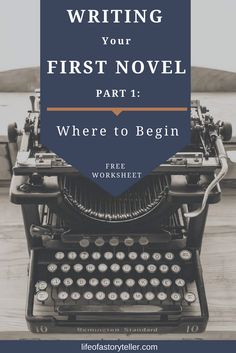 Writing your first book is such a huge project and a massive step towards your career as a writer. It's like riding a bike for the first time, bloody scary!