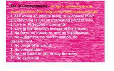 Access Consciousness 10 Commandments