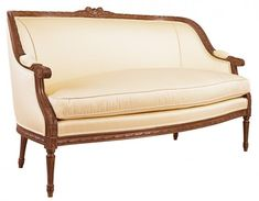 Louis J Solomon Louis XVI Loveseat