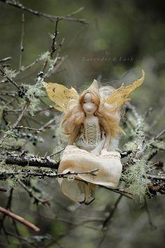 A Little Faerie Girl — Lavender & Lark