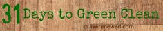 31 Days to Green Clean: Cleaning the Oven Without Harsh Chemicals