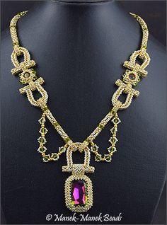 Stirrups by Manek-Manek Beads - Jewelry | Kits | Beads | Patterns
