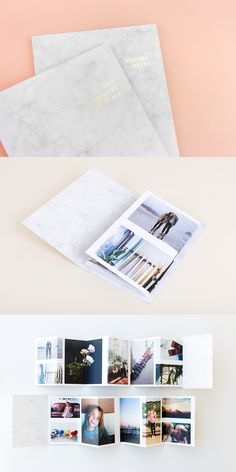 Our Zine features a marble cover, gold foil title and 14 of your very favorite photos. Create your own with just a few taps in our app.