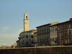 Clock Tower In Pisa