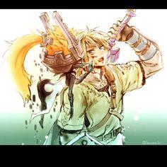 ZZZ — After the battle  黄昏リン君はふとした時に素でケモノっぽい表情とか仕草して欲しい ...
