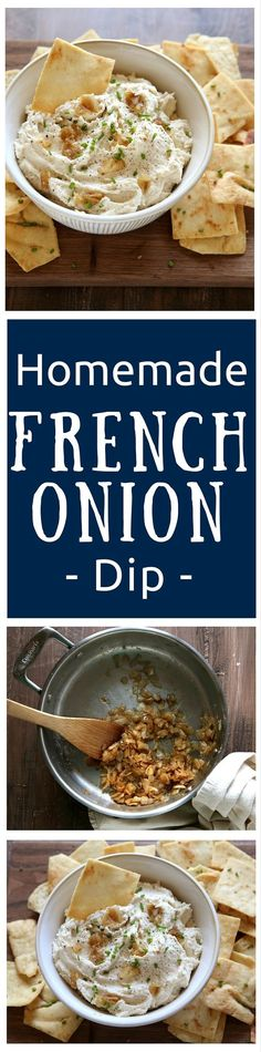 Homemade French Onion Dip