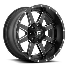 FUEL® - MAVERICK DEEP LIP Matte Black with Milled Accents. The wheel can be ordered in diameters. Choose your rim width, offset, bolt pattern and hub diameter from the option list. Dually Wheels, Aftermarket Wheels, Truck Rims, Off Road Wheels, Wheel And Tire Packages, Rims And Tires, Jeep Wheels And Tires, Sierra 1500, Black Wheels