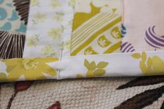 strip quilt and binding tutorial