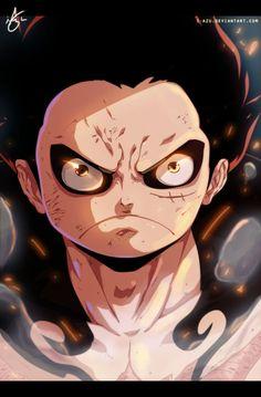 Luffy GEAR FOURTH One Piece by i-azu
