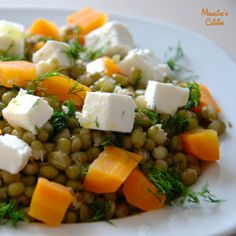 Salata de fasole Mung si morcovi / Carrot and Mung beans salad - Madeline's Cuisine
