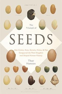 Our Food for Thought Book Club is reading The Triumph of Seeds: How Grains, Nuts, Kernels, Pulses, and Pips Conquered the Plant Kingdom and Shaped Human History by Thor Hanson! Find A Book, This Is A Book, Industrial Revolution, Reading Lists, Botany, Audio Books, Grains, Seeds, Amazon