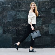 50 Pairs of Shoes carries The Strathberry Midi Tote in Black