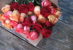 Original mixed roses