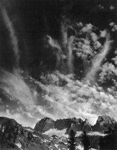 Ansel Adams - Minarets 1930s