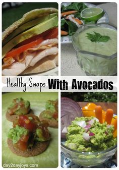 Healthy Swaps with Avocados