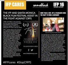 "@CMattocks1 @mariemcgowin  RT Charles Mattocks (@CMattocks1)  ""charlesmattocksLoving the press they are putting out for this film festival we are in. Very progressive for #crps and the film. http://www.samoblackfest.com"""