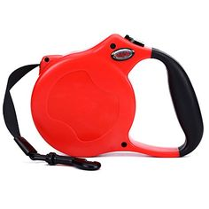 Idson Retractable Leash 16 Feet, Red for Dog >>> Read more @ http://www.amazon.com/gp/product/B015MOUR24/?tag=lizloveshoes-20&pza=310716073410