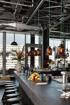 Hit the rooftop Monkey Bar for drinks, DJs, hip hop gigs and theater performances. 25hours Hotel Bikini Berlin (Berlin, Germany) - Jetsetter