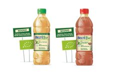 Beltè presents the new Beltè Bio, the first unsweetened* organic iced tea without sugar, perfect for those who enjoy the pleasure of simple and natural flavors. Beltè Bio comes in two new flavors, Infusion of Black tea with berries and Infusion of Green Tea, and the classic flavors of Beltè, with infused Peach and Lemon, all in a 50cl PET bottle developed by PET Engineering.