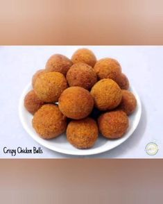 Fried Chicken Balls Recipe, Chicken Cheese Ball Recipe, Cheese Ball Recipes, Crispy Chicken, Cheese Snacks, Cheese Food, Indian Chicken Recipes, Easy Chicken Recipes, Dog Food Recipes