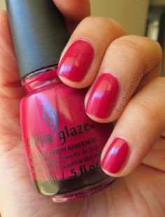 """Seduce me"" - China Glaze China Glaze, Pretty Nails, Nail Polish, Enamels, Nailed It, Polish Nails, Colors, Ongles, Cute Nails"