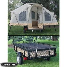 I love this!even with a 5th wheel,I  still love the feel of sleeping in a tent and its off the ground so I dont get afraid of critters ;)