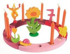 Grimm's Birthday Rings Pink-Red, Grimm's toys, Ava's Appletree Canada