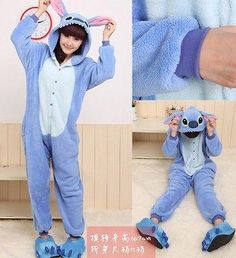 Hot-Unisex-Adult-Pajamas-Kigurumi-Cosplay-Costume-Animal-Onesie-Sleepwear