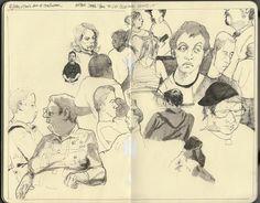 scott brundage sketch book