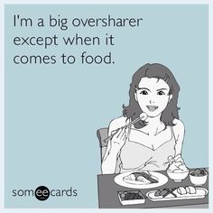 Big over sharer
