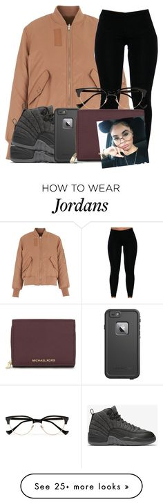 """"""": ✨"""" by omggzoee on Polyvore featuring Whistles, NIKE, LifeProof, MICHAEL Michael Kors and Cutler and Gross"""
