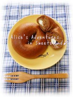 「* ふんわりもっちり*ココアベーグル♪」cherry♪ | お菓子・パンのレシピや作り方【corecle*コレクル】