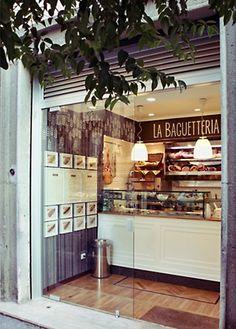 La Baguetteria - Paninoteca,Via Gualtiero Castellini 20, Via Reti 21, Via Giunio Bazzoni 7a, Via Chiana 42, Via GiovanniP. da Palestrina 72, design and made by RPM Proget
