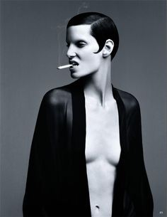 Image result for haute goth androgyny