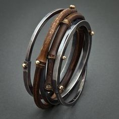 Bamboo Bracelets by Fred & Janis Tate Designs