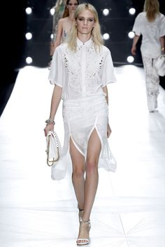 Roberto Cavalli Spring Summer 2013 #fashion