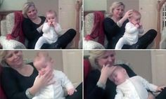 Mother sends her baby to sleep in less than a MINUTE with a massage Baby Massage, Go To Sleep, Baby Sleep, Beatles, Jennifer Ellison, Massage Techniques, Baby Head, Baby Hacks, Baby Tips