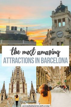 The Most Amazing Attractions in Barcelona. There are many many things to do in Barcelona if you have the time and resources. Here are the top things that I found interesting during our brief visit. Barcelona Attractions | Barcelona Travel Guide | Best things to see in Barcelona #barcelona #spain Barcelona Travel Guide, Visit Barcelona, Barcelona Spain, Barceloneta Beach, Spanish Heritage, Antoni Gaudi, Cities In Europe, Beautiful Buildings, Spain Travel