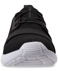 Under Armour Women's Moda Run Casual Sneakers from Finish Line - Black 9.5